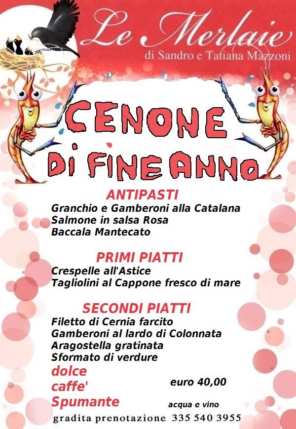 menu fine anno